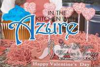 In the Kitchen with Azure - Chicken Alfredo Lasagna and Valentine Rice Krispie Treat Pops
