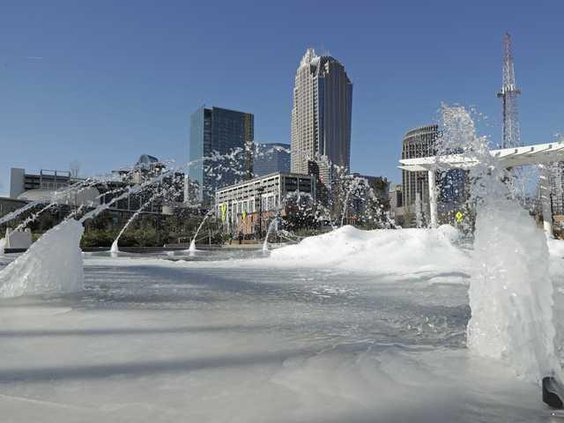 W Freezing in Charlotte