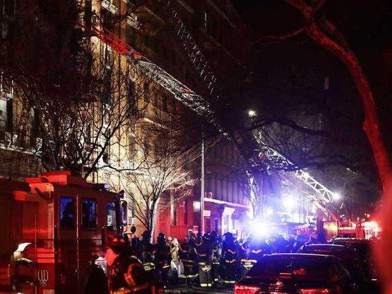 W NYC Fire