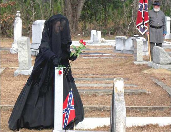 Confederate graves for Web