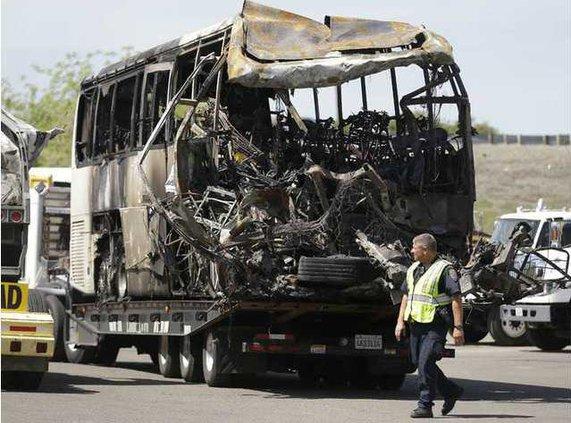 California Bus Crash Heal