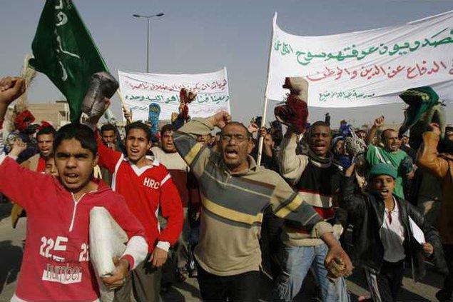 Iraq Demonstration 4660605