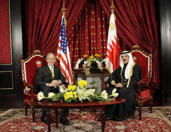 US Bush Mideast BHR 5738902