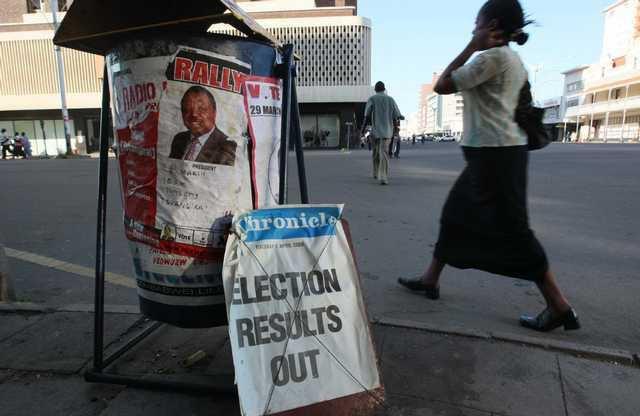 ZIMBABWE ELECTIONS 5592092