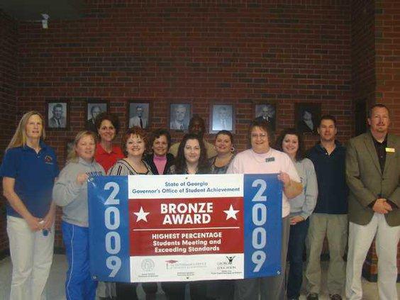 W SEBHS Bronze Award
