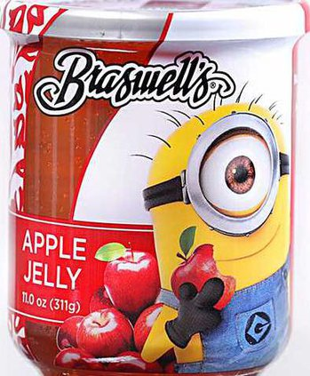Braswell Minion Jelly Web