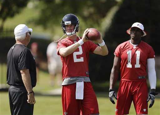 Falcons Ryan Football Heal