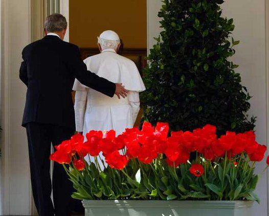 Bush US Pope WHRE10 5155599
