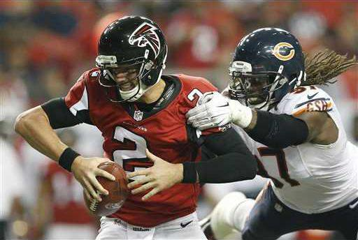 Bears Falcons Footbal Heal