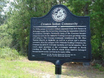 Croatans have long established history in Bulloch