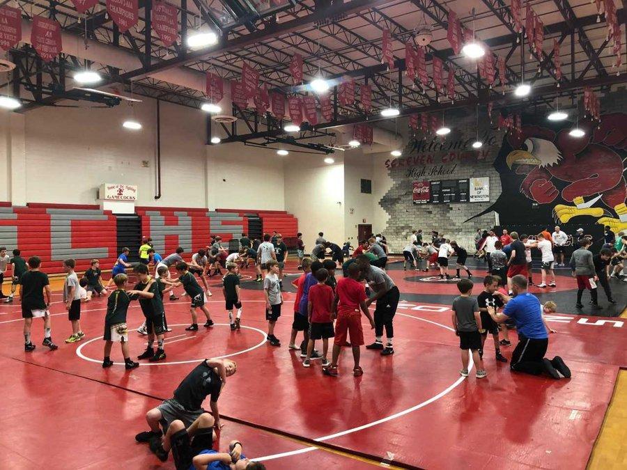 Screven County hosts wrestling camp - Statesboro Herald