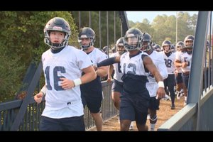 GA Southern first day of practice