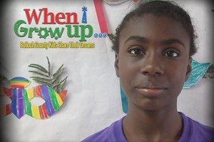 D'Myiah Tribble: When I Grow Up...
