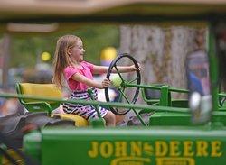 Peanut festival tractor