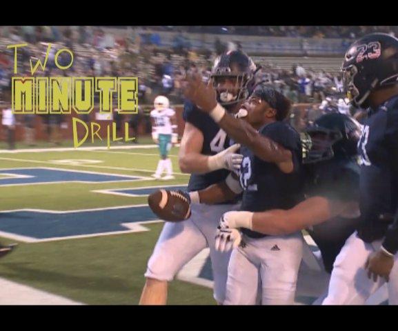 Two-minute drill -0 GA SOuthern vs CCU