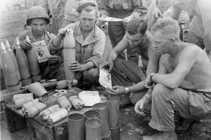 pacific theater troops