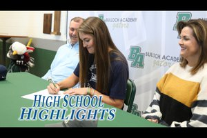 HS Highlights student athletes sign letters of intent