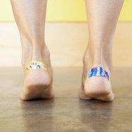 bandaid on foot